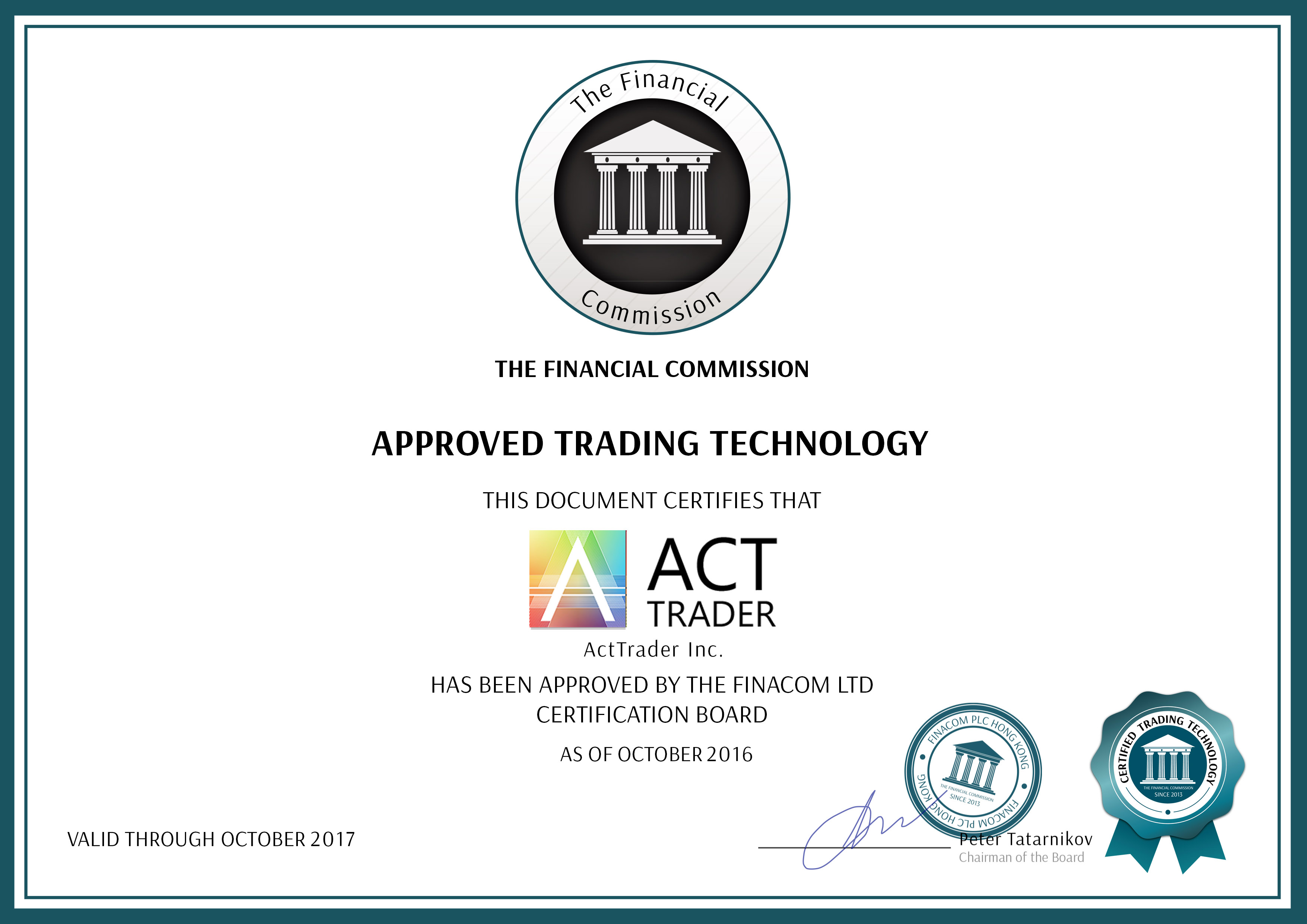 Certificate_Fincom_Act Trader